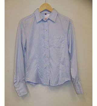 Hobbs - Size: 10 - Blue - Blouse