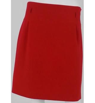 Coast Red Knee-Length Skirt Size 14