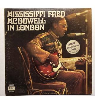 In London. Mississippi Fred McDowell - SES 97018