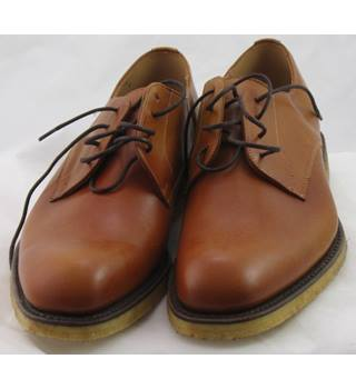 Mulberry, size 8 tan leather Derby lace ups