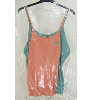 TU - Size: 22 - Multi-coloured -  3 Vest Tops