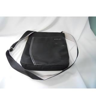 Radley Cross Body Leather and Nylon Black Cross Body Bag