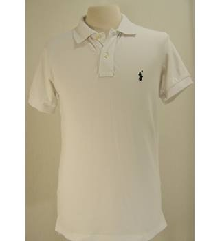 Ralph Lauren - Size: S - White - Polo shirt