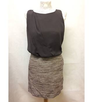 BNWT NEW Next - Size: 6 - Brown - Knee length dress