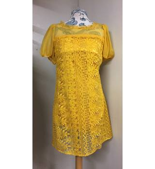 Laundry by Shelli Segal dress - Size: 6 - Yellow - Summer