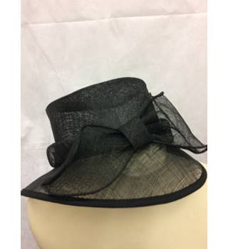 Marks and spencer-wedding hat-black M&S Marks & Spencer - Size: One size - Black