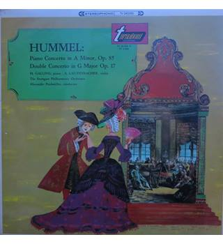 Hummel: Piano Concerto in A minor; Double Concerto for piano & violin in G major. Turnabout TV 34028-S Stereo