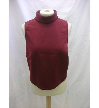 NEW Asos Top  - Size: 12 - Red