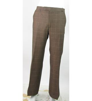 "Vintage - Keynote - Size: 34""/29"" - Brown Mix - Trousers"