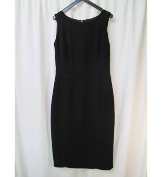 Laura Ashley - Size: 10 - Black - Knee length dress