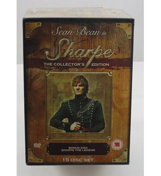 SHARPE THE COMPLETE SERIES - THE COLLECTOR'S EDITION - BRAND NEW 15