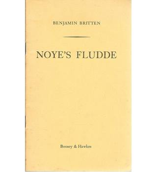 Noye's Fludde. The Chester Miracle Play