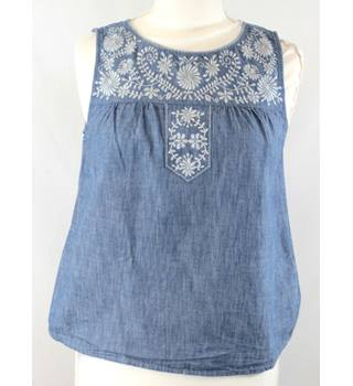 Oasis - Size: 10 - Blue Top