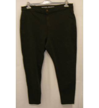 M&S Marks & Spencer - Size: 20S Moss Green jeans