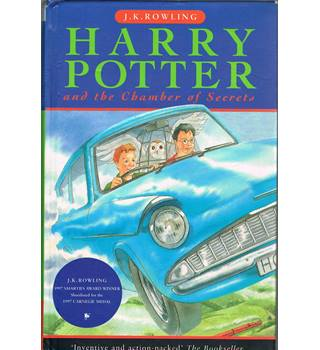 Harry Potter and the Chamber of Secrets. First Edition