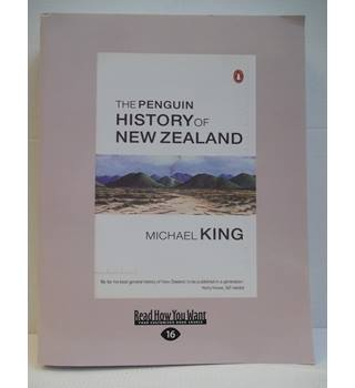 The Penguin History of New Zealand (Easy Read Large Print, 16)