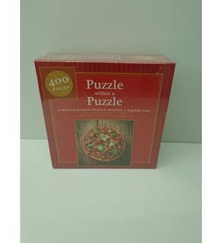 new 400 piece pizza jigsaw (L10)