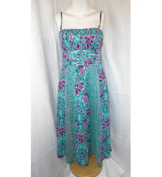 MONSOON SUMMER DRESS, SIZE 8 Monsoon - Size: 8 - Multi-coloured - Summer