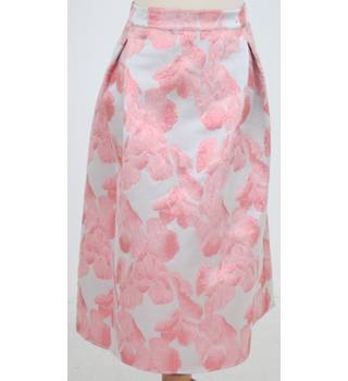 NWOT: M&S Collection: Size 16: Pink & taupe metallised skirt