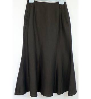Jaeger - Size: M - Brown - Calf length skirt