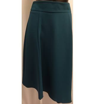 M&S Marks & Spencer - Size: 28 - Blue - Calf length skirt