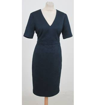 NWOT: M&S Collection: Size 12 Regular: Navy blue body-con dress