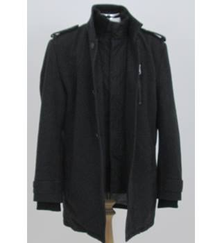 BHS size: M dark grey coat
