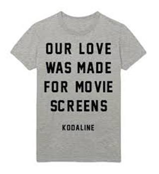 Kodaline t-shirt Kodaline Gildan - Size: XL - Grey - Short sleeved T-shirt