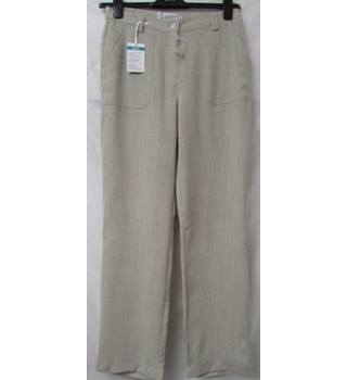 BNWT - COLLECTION L - Size: L - Cream / ivory - Lightweight Trousers