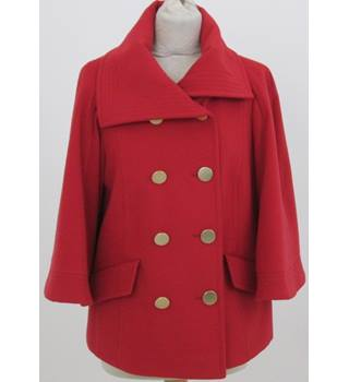 M&S Size: 12 - Red jacket