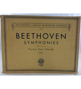 Beethoven - Symphonies 1 to 5. Piano Duet.