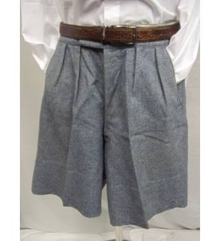 Vintage Daniel Neal's wool tailored shorts - Size: S