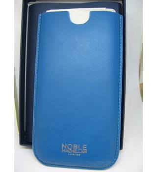 Brand new Noble Macmillan London Blue Leather Phone Case