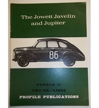 The Jowett Javelin and Jupiter - Profile Publications