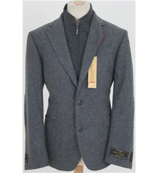 "NWOT M&S Collezione size: 42""S grey single breasted suit jacket with insert"