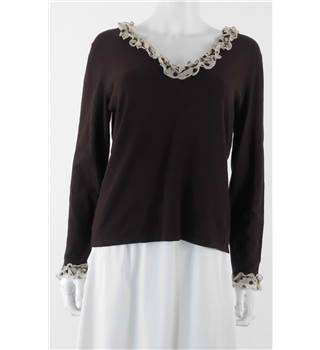 NWOT Per Una Size 18 Brown Jumper