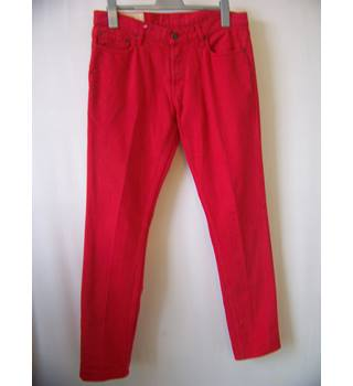 "Hollister - Size: 34"" - Red - Jeans"