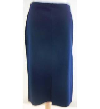 Marks & Spencer - Size: 12 - Blue - Pencil skirt