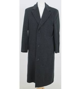 Pierre Cardin size 34R chest grey coat