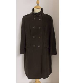 "M&S Collection size 44"" chest double breasted military style coat"