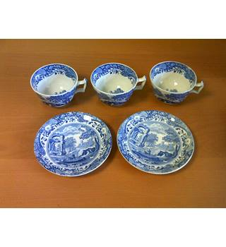 Copeland Spode Italian 5 Piece Tea Set