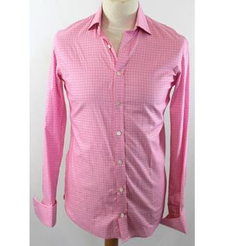 M&S Marks & Spencer - Size: S - Pink - Long sleeved shirt