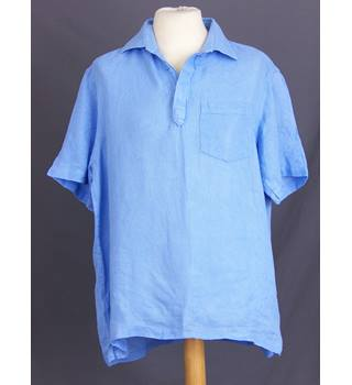 M&S Marks & Spencer - Size: L - Blue - Short sleeved