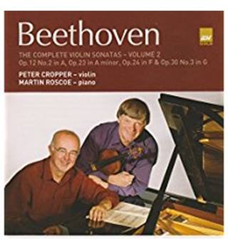 Beethoven: The Complete Violin Sonatas, Vol.2