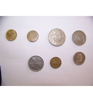 Collection of Malta coins Mixed bag