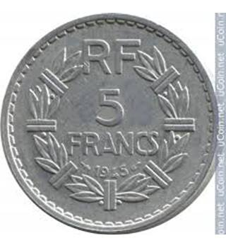 french 5 Francs Coin X1