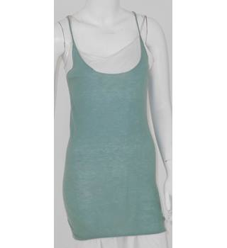 Joseph Size M Deep Aqua Fine Cashmere Dress