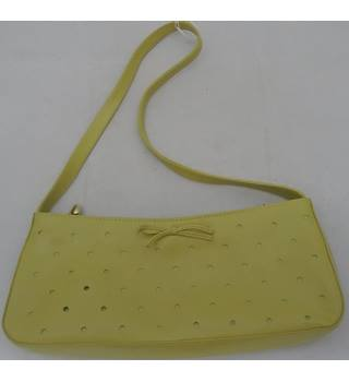 Carvela mustard yellow mini bag