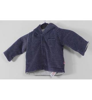 NWOT M&S Size: 0-3 months Navy Mix Fleece Jacket
