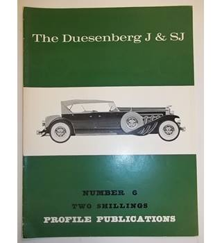 The Duesenberg J & SJ - Profile Publications